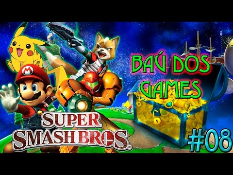 Baú dos Games #8 - Super Smash Bros
