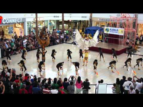 Tribu Pan-ay performing at Micronesia Mall, Guam July 22, 2012 1/2