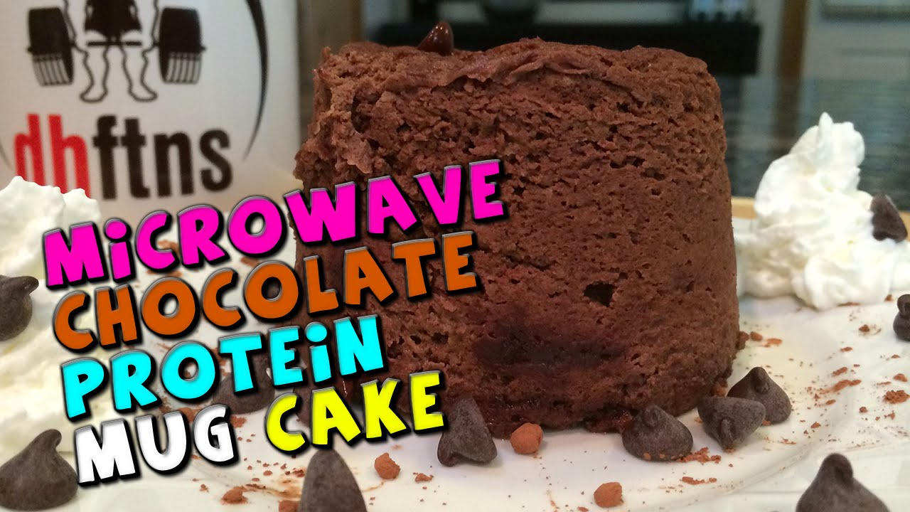 Microwave Chocolate PROTEIN Mug Cake Recipe YouTube