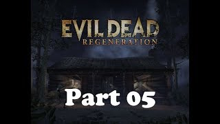 Evil Dead Regeneration Nostalgia playthrough [XBOX Classic] Part 05 From swamps to the outerworld