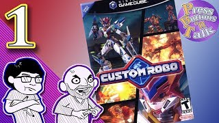 Custom Robo, Ep. 1: A Fatherly Clothesline - Press Buttons 'n Talk thumbnail