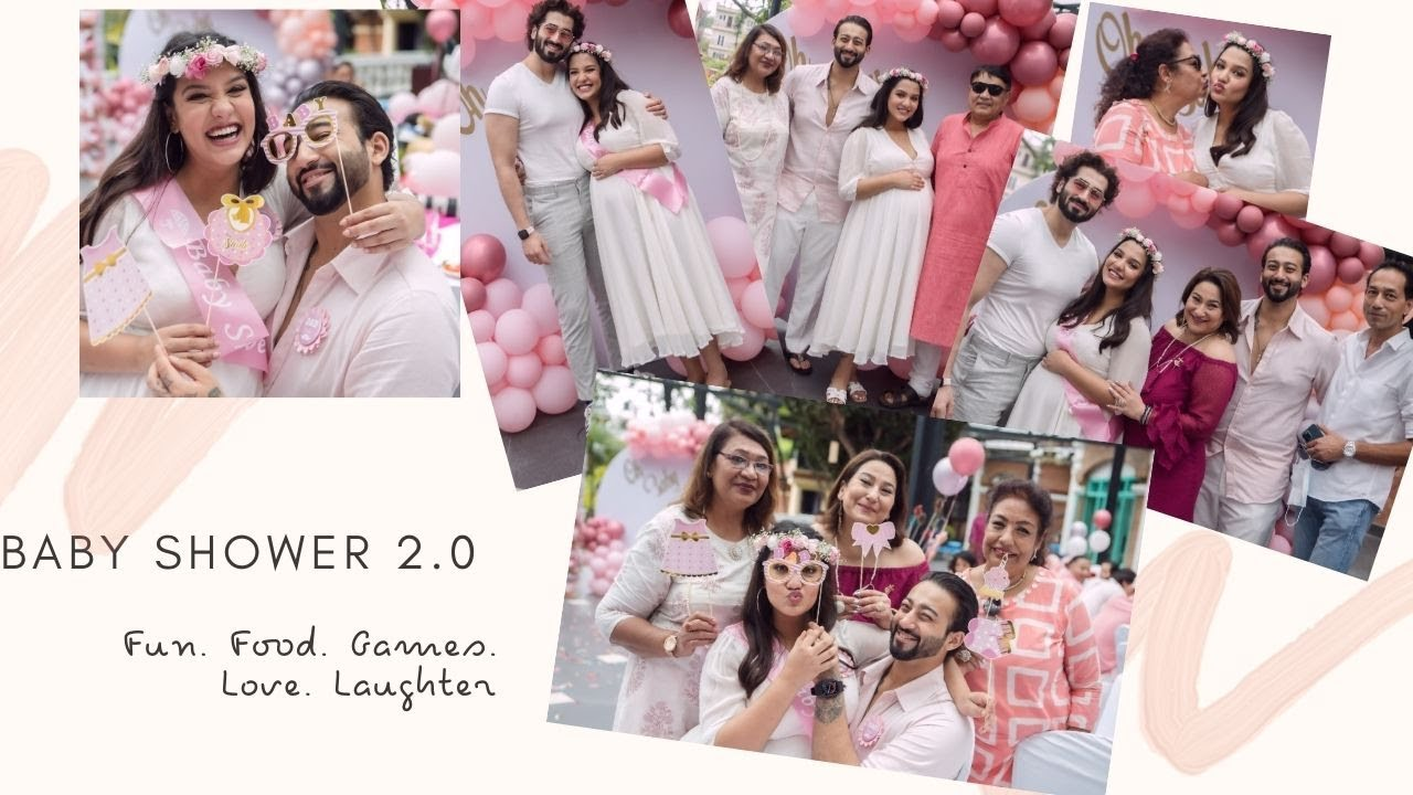 Blessings for BABY AYANKA | GAMES | FUN | The whole family TOGETHER |  BABY SHOWER 2.0 for Priyanka