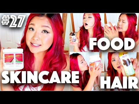 VEGAN FOOD + BEAUTY FAVOURITES HAUL (IHERB) | #27 (30 Videos in 30 Days) ♥ Cheap Lazy Vegan