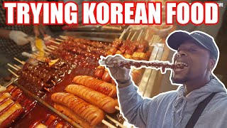 Trying Korean Food | Lost Random Footage of When I Traveled To South Korea!!!
