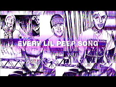 LiL PEEP - all of it v2 (Almost EVERY LiL PEEP Song)