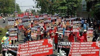 TERUNGKAP! Bukan SBY, Sosok Inilah Yang Danai Aksi Demo Tolak Omnibus Law