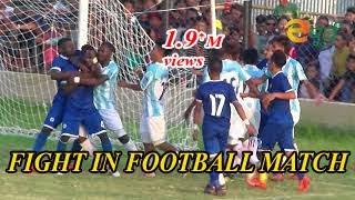 MANANG MARSYANGDI Vs THREE STAR FOOTBALL CLUB FIGHT IN FOOTBALL MATCH