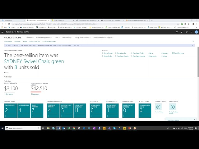 Opal Weekly Lunch and Learn  Dynamics 365 Business Central; CRM Connections