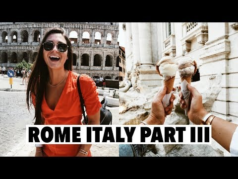ROME PART III: touring the vatican city, lunch at the colosseum & last dinner!
