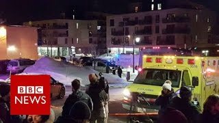 Quebec City mosque shooting  6 killed, 8 wounded   BBC News