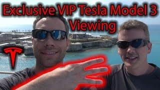 Tesla Model 3 Exclusive VIP Event Invitation!