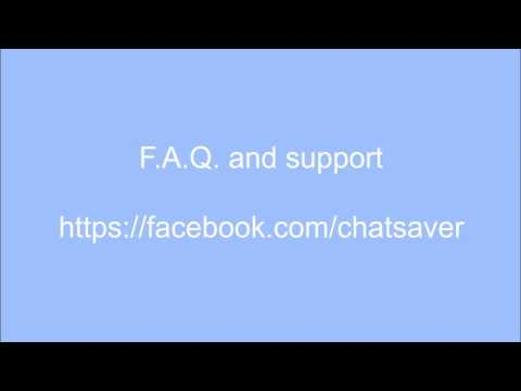 Messages Saver for Facebook™ - Chrome Web Store