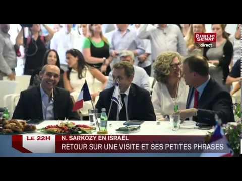 Les Républicains : Nicolas Sarkozy En Tournée En Israël