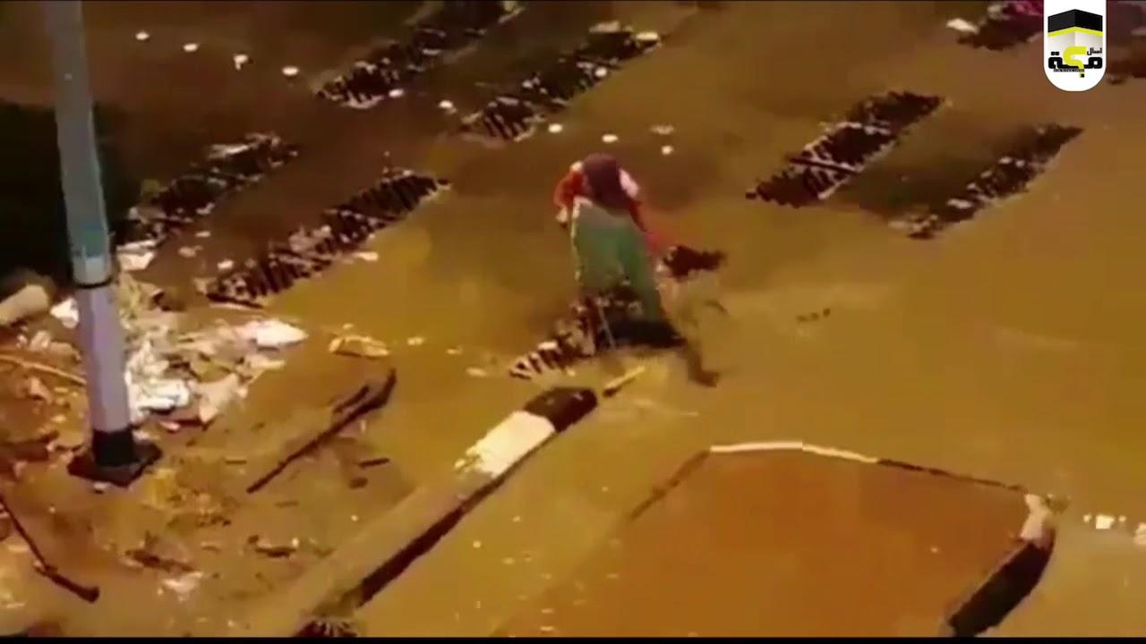 عامل نظافة في مكة !! ... ماذا بينه وبين الله ؟