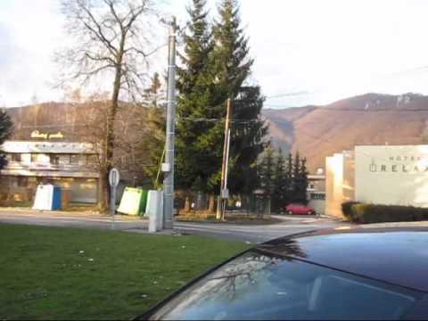 Slovakia, Rajecké Teplice, Wellness Hotel Diplomat a okolie