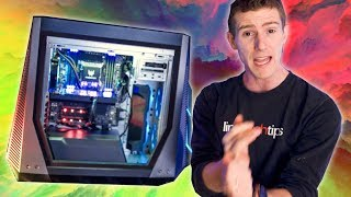 This Gaming PC is on WHEELS!