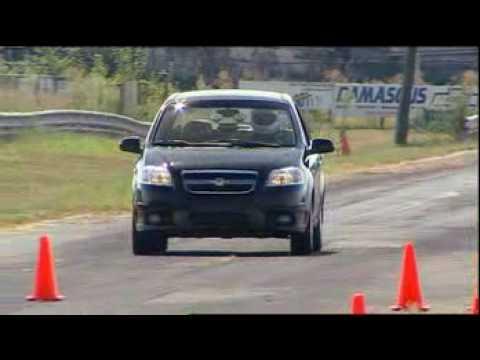 Motorweek Video of the 2007 Chevrolet Aveo