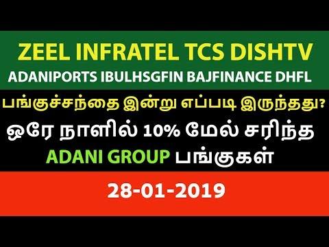 பங்குச்சந்தை இன்று எப்படி இருந்தது? 28-01-19 Yesbank Zeel NSE Aliceblue Zerodha Tamil Share CTA