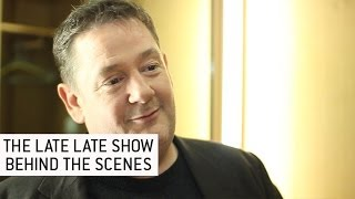 Johnny Vegas - The Late Late Show | Behind The Scenes