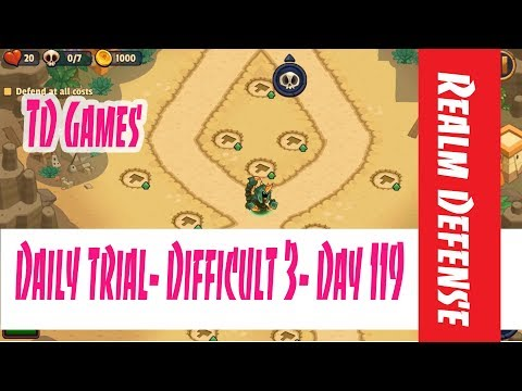 Realm Defense- Daily Trial- Difficult 3- Day 119