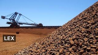 Iron ore: Fe, fi, fo, fum