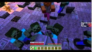 "Minecraft - Zombie - Zombie Apocolypse! (Music: ""Ignition"" Tobymac)"