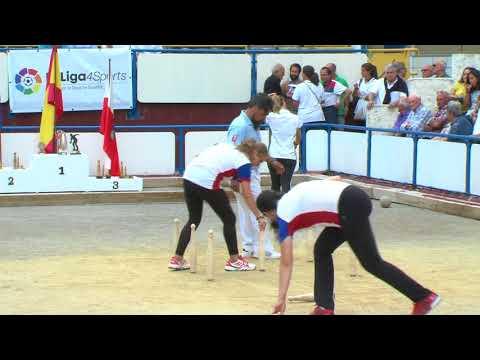 Semifinal Campeonato de España Femenino de Bolo Palma
