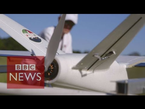 Syria: Drones to SAVE lives - BBC News