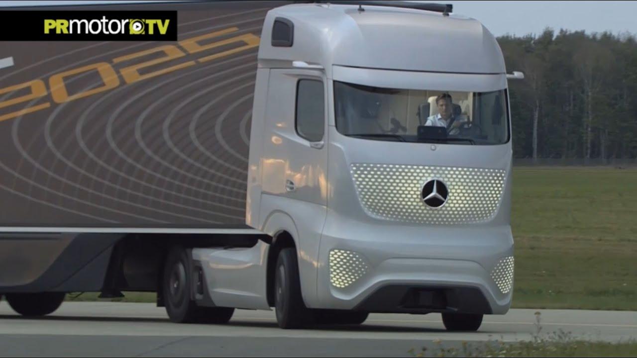Conoces el camión del futuro de Mercedes-Benz? Car News TV en PRMotor TV Channel - YouTube