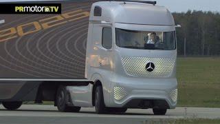 Conoces el camión del futuro de Mercedes-Benz? Car News TV en PRMotor TV Channel