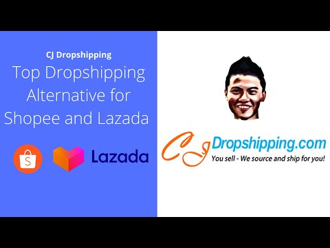 CJ Dropshipping -Top Aliexpress/Chinabrands Dropshipping Alternative for Shopee and Lazada