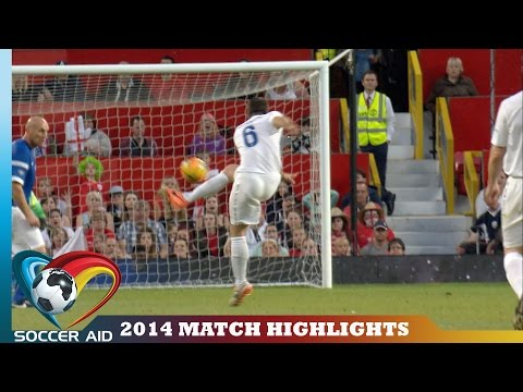 Soccer Aid 2014 Match Highlights