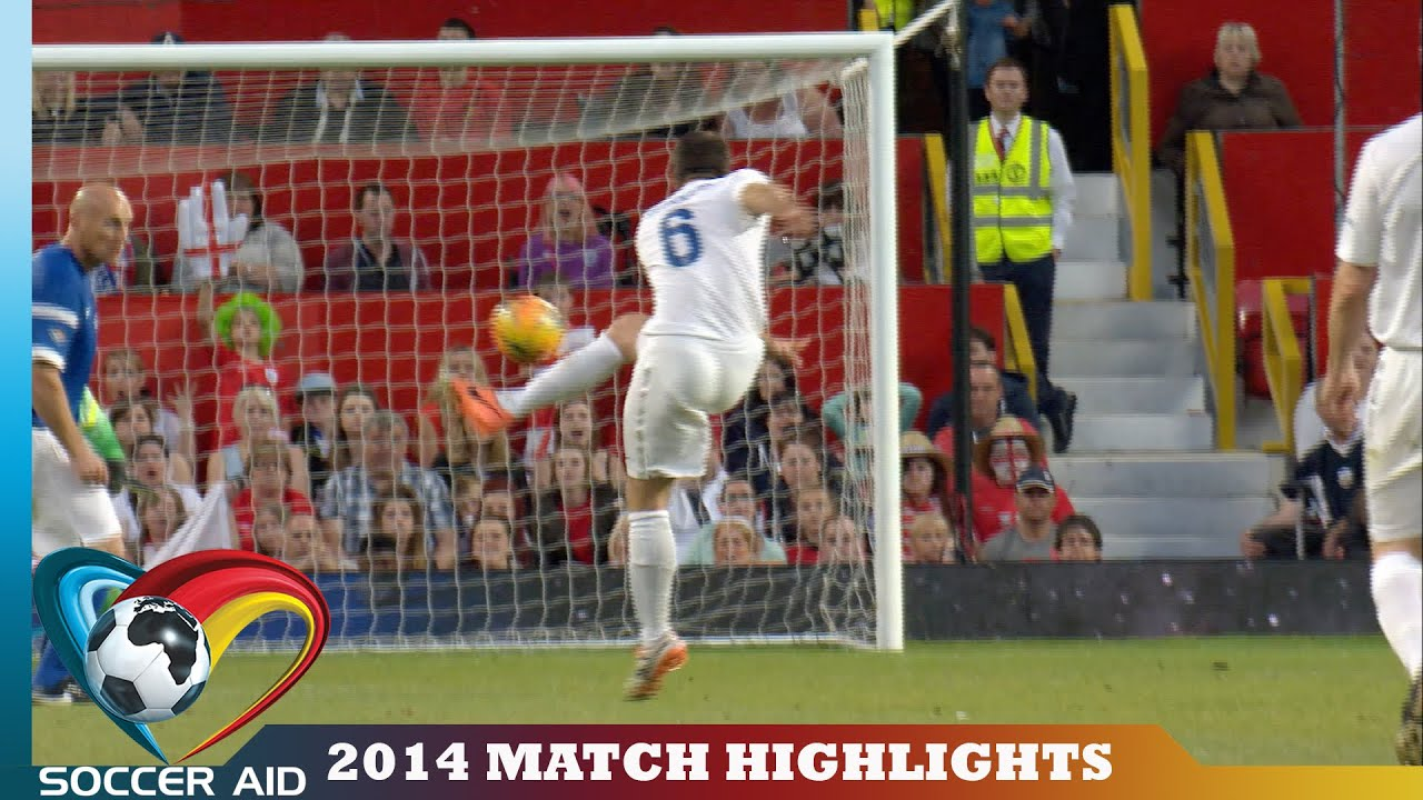 Soccer Aid 2014 Match Highlights - YouTube