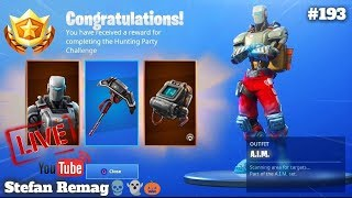 🔴 [LIVE] I UNLOCKED THE A.I. M SKIN!!! | FORTNITE SOLO Live No. 193