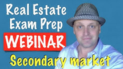 Webinar - secondary market
