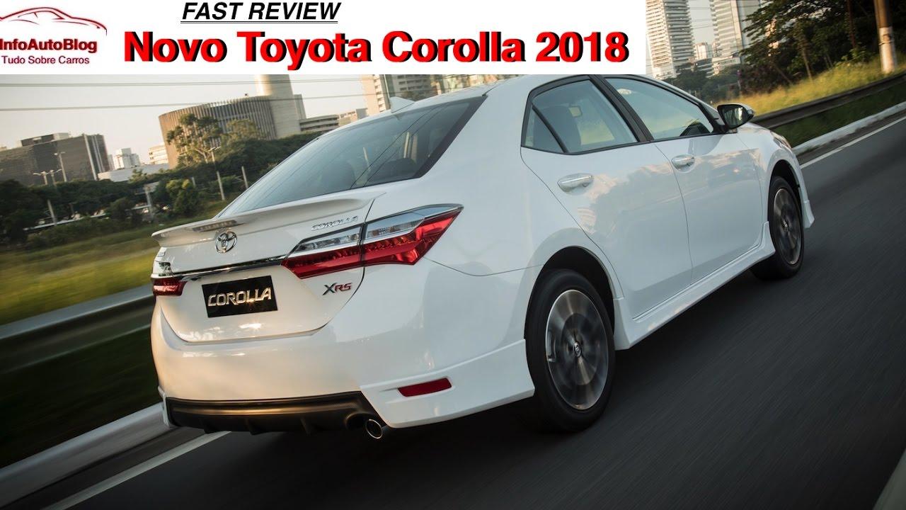 Novo Toyota Corolla 2018 Fast Review