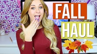 HUGE Fall Clothing Haul 2016! ft. Fashion Nova