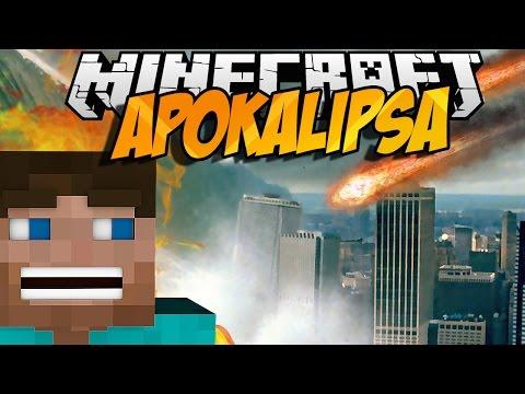 Minecraft mody! CZARNA DZIURA TSUNAMI!   APOCALYPSE MOD