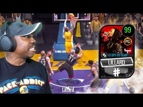 99 OVR Dame D.O.L.L.A. Is A GLITCH! NBA Live Mobile 20 Season 4 Gameplay Ep. 39