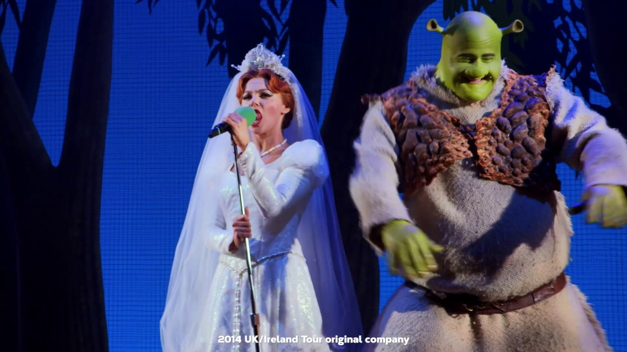Shrek The Musical Uk Tour Atg Tickets Youtube