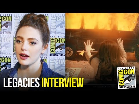 Danielle Rose Russell vs. Reacts To New Legacies Trailer At Comic Con 2018