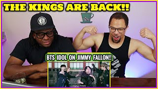 The Kings Are BACK!   Reaction to BTS : IDOL on Jimmy Fallon (*NEW)