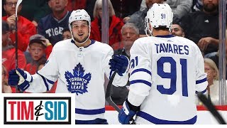 Maple Leafs Are Scoring Like Crazy, But Will Auston Matthews Net 60 Goals? | Tim and Sid