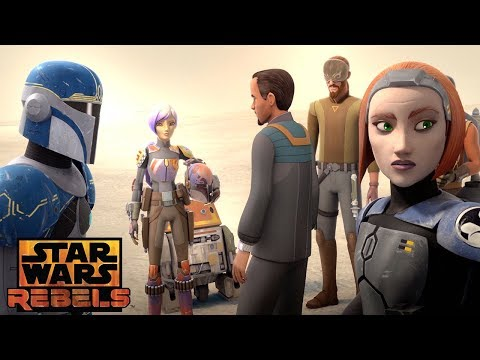 Heroes of Mandalore: The Weapon exists | Star Wars Rebels | Disney XD