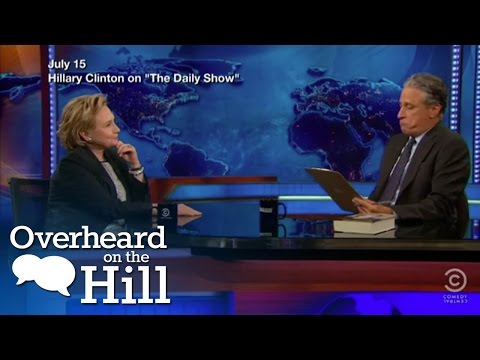 Jon Stewart Finds Hillary