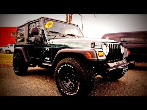 Jeep wrangler x 2003