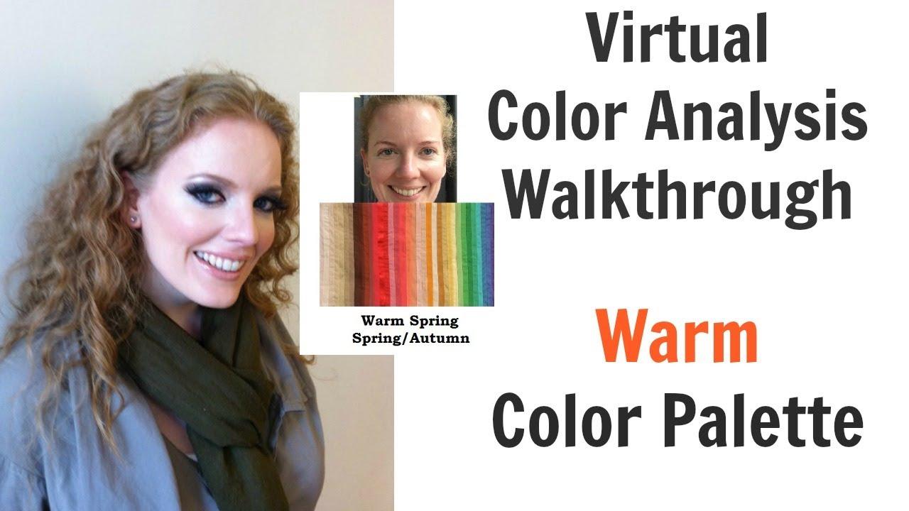 d04043b1b7 Warm Spring and Autumn Color Palette - Virtual Color Analysis - Warm Skin  Undertone | Best Colors