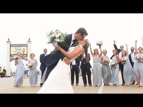 Summer Wedding By The Shore {taylor & Randy} NJ Wedding Video