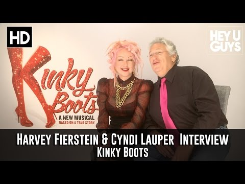 Harvey Fierstein & Cyndi Lauper Interview - Kinky Boots