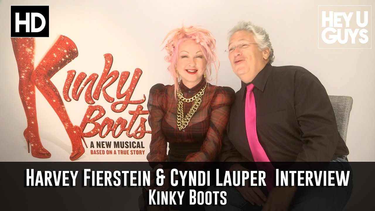 Harvey fierstein cyndi lauper interview kinky boots for Kinky boots cyndi lauper